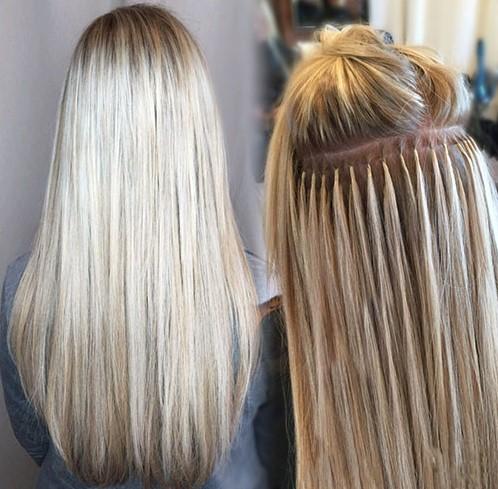Keratinske ekstenzije za kosu